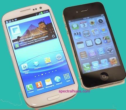 Apple iPhone 4S beats Samsung Galaxy S III – SpectralHues
