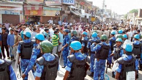 Curfew imposed in Muzaffarnagar