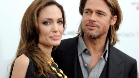 Angelina Jolie's double rings Spark secret wedding rumours