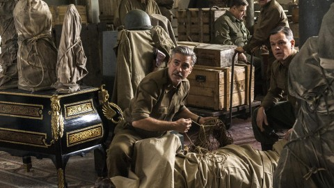 "Clooney's ""The Monuments Men"" delayed for early 2014 release"