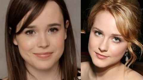 "Ellen Page and Evan Rachel in ""Into The Forest"""