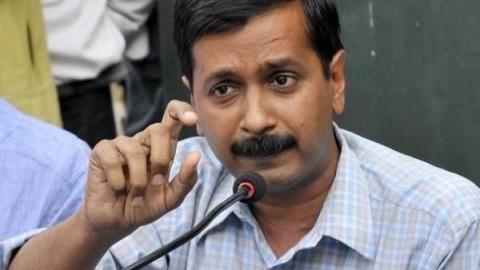 Ink throws at AAP leader Arvind Kejriwal