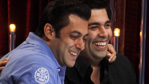KJo's first choice Salman and not Shah Rukh?
