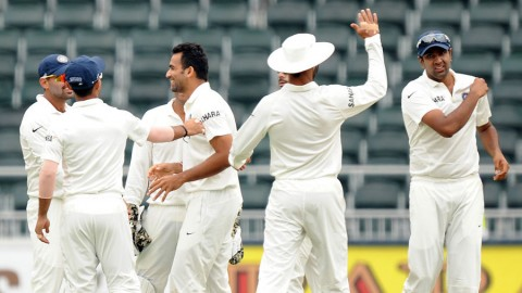 India takes firm control of the first test