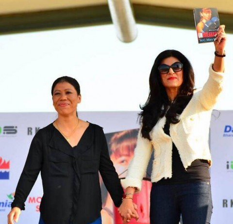 Mary Kom's autobiography 'Unbreakable' launched