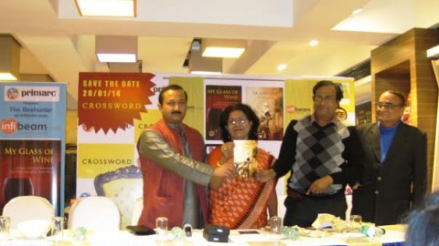 Kiriti Sengupta's books launched at Crossword