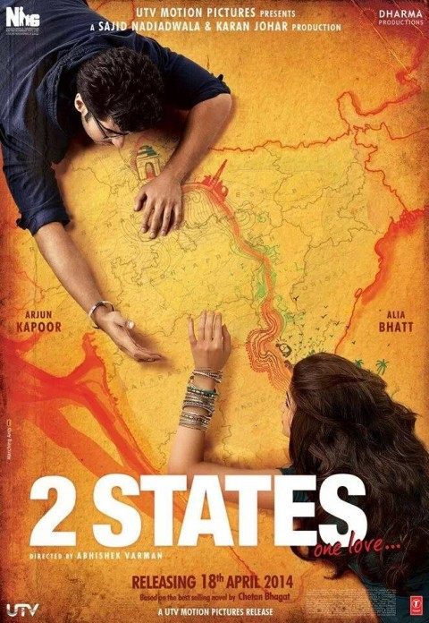 "Official trailer of ""2 States"" releases"
