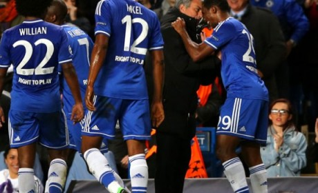 Referee steals the show as Chelsea put half-a-dozen past Arsenal