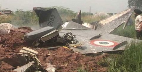 IAF pilot killed in MIG-21 crash