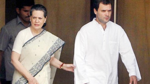 Sonia Gandhi and Rahul Gandhi to resign on Monday?