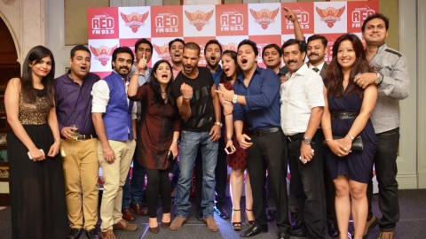 93.5 RED FM organized Meet and Greet with SunRisers Hyderabad