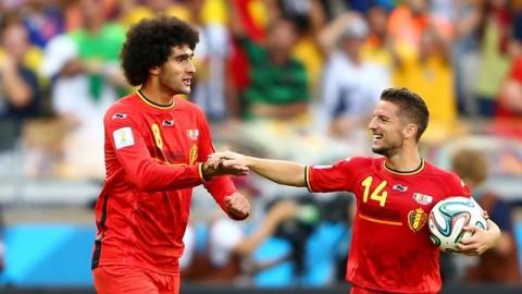 Super subs do it for Belgium