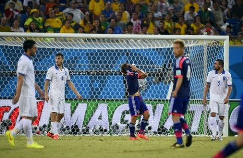 Japan and Greece settle for a stalemate