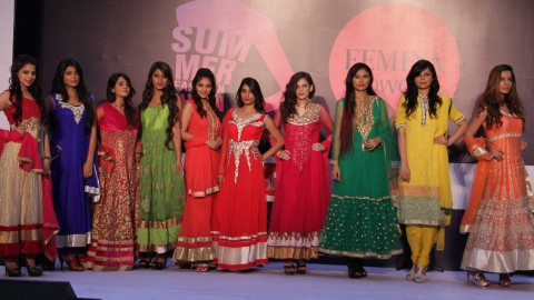 "Pictures of ""Femina Festive Showcase 2014 – Gurgaon"" Summer Fashion Show"
