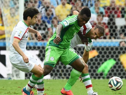 Nigeria and Iran settle for a draw