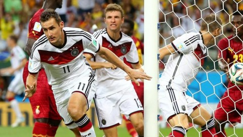 Germany escapes a scare from Ghana