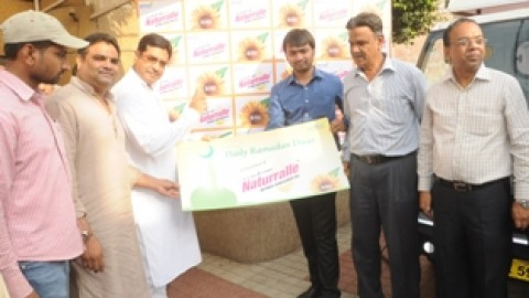 "Naturralle Refined Sunflower Oil organises ""Ramadan Mubarak"" a special initiative"