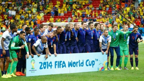 Netherlands beat Brazil 3-0 to take third place
