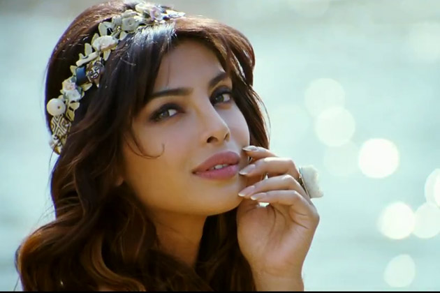 Priyanka Chopra getting ready for Madhur Bhandarkar's Madamji