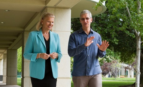 Apple and IBM team-up to make iOS king