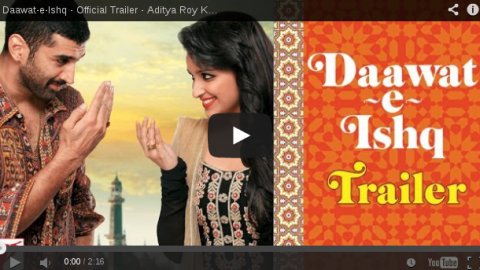 First official trailer of Daawat-e-Ishq