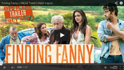 Check the first official trailer of Arjun Kapoor and Deepika Padukone statter  'Finding Fanny'