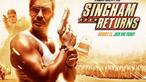 First look and posters of Singham Returns are out!