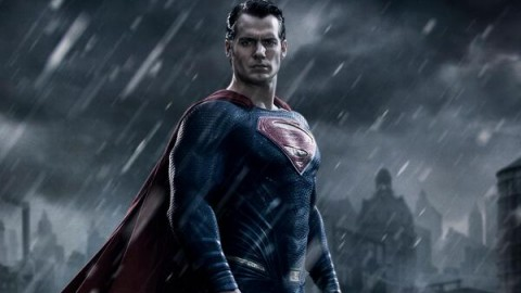 Henry Cavill's first look as Man of Steel in Batman V. Superman