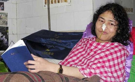 Irom Sharmila vows to continue her protest