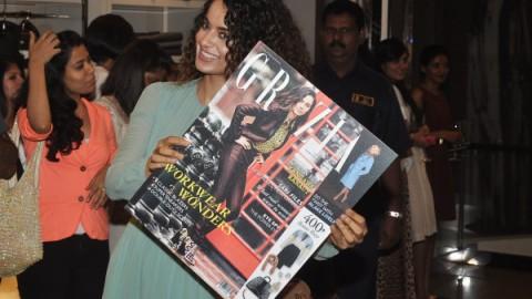 The Cover launch of Grazia Magazine by Kangana Ranaut