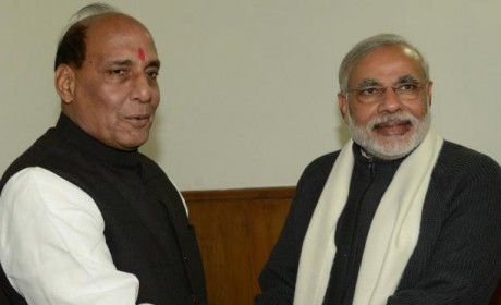 Rajnath Singh denies allegations