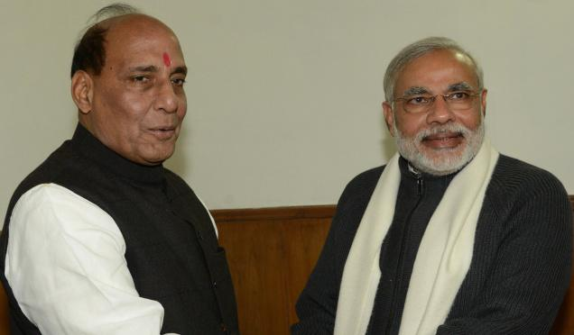 Rajnath Singh denies allegations