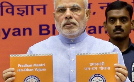 PM optimistically launches Jan DhanYojana