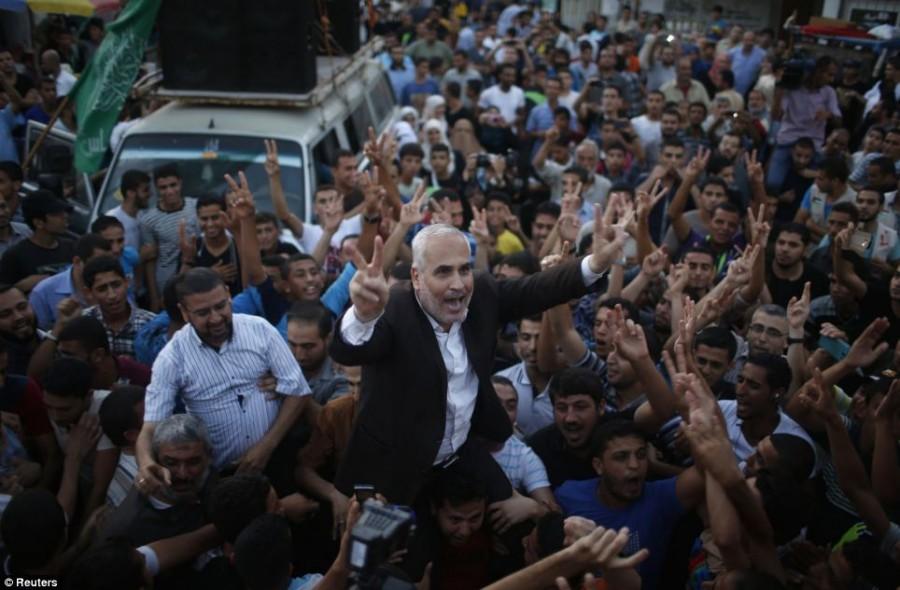 Ceasefire declares in Gaza
