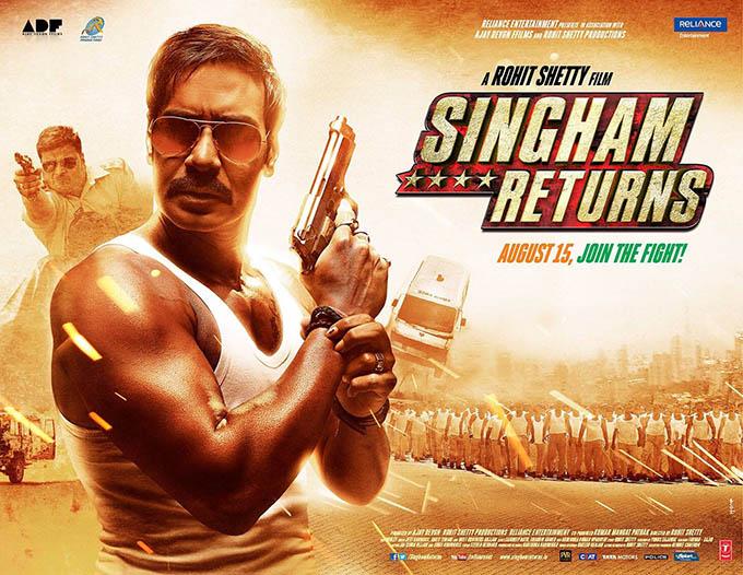 Ajay Devgn's 'Singham Returns' crosses Rs 100 crore