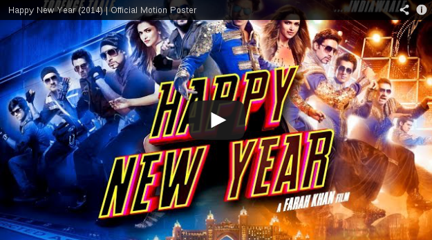 Motion Poster of 'Happy New Year'