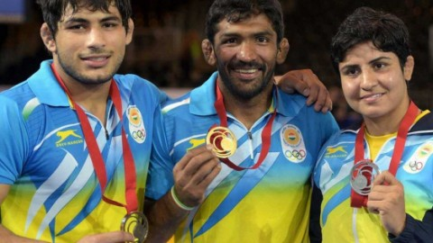 India is now on 5th spot at CWG