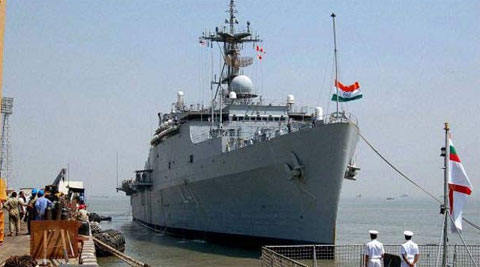 PM Modi inducts INS Kolkata into the Indian Navy