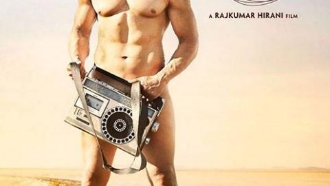 First look of Aamir Khan in P.K.