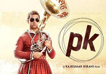 Aamir's PK continues breaking its news as Bolts from the Blue