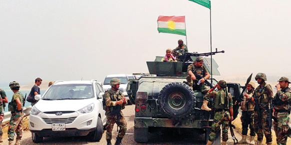Besieged Amirli town freed by Kurdish troops in Iraq