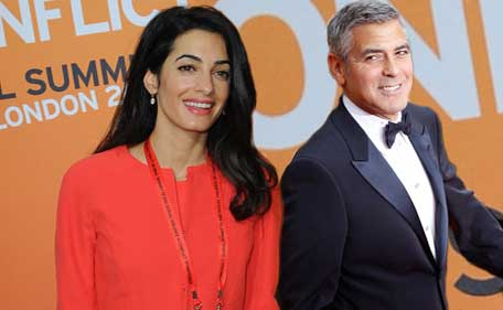 George Clooney, Amal Alamuddin ready to take vow