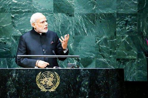 Prime Minister Modi makes a brilliant speech at the UN