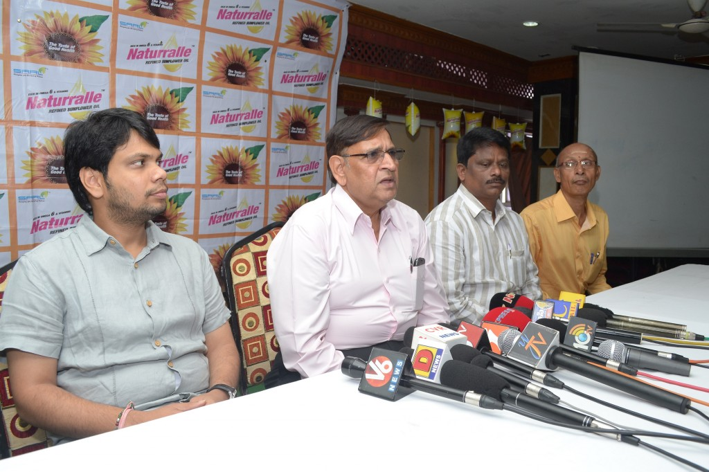 Naturralle press conference Mr.  K S Rao speking