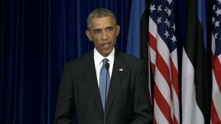 Obama warns ISIS