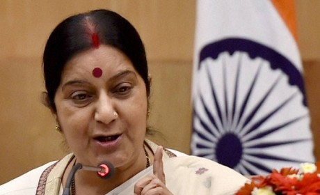 Sushma Swaraj slams Pakistan for spoiling peace talk