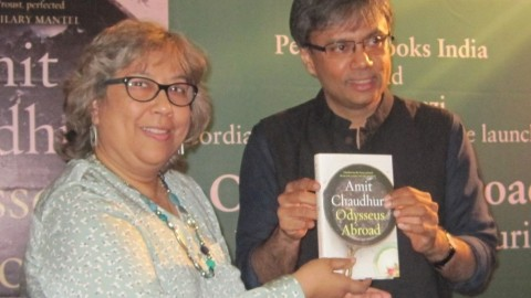 "Formal launch of Amit Chaudhuri's latest novel ""Odysseus Abroad"""