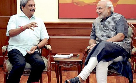 Manohar Parrikar will be next Defence Minister of India