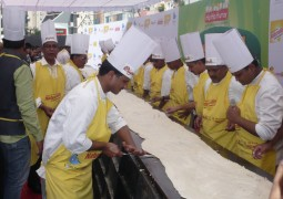 World's largest Dosa cooked in Naturralle Refined sunflower oil