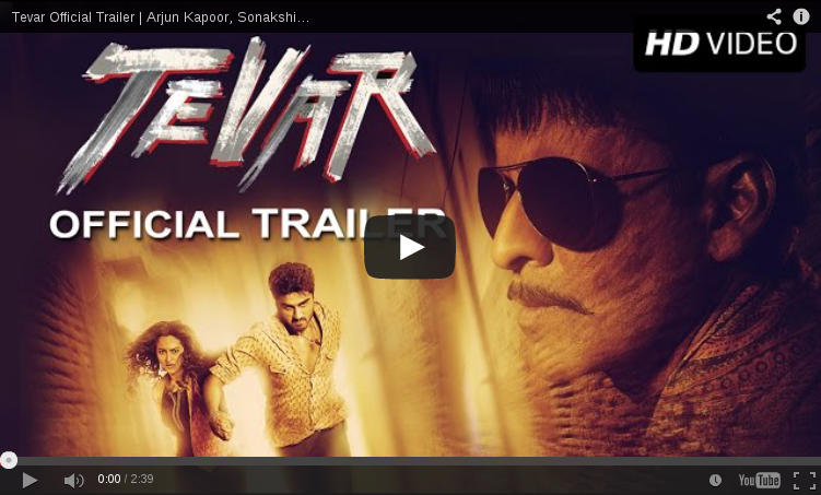 Checkout power-packed trailer of 'Tevar'